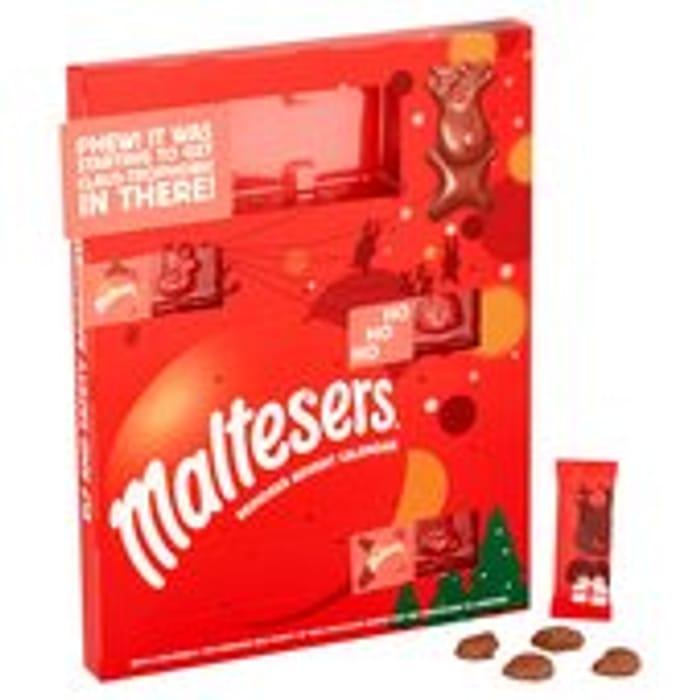 Maltesers Merryteaser Advent Calendar 104g Morrisons