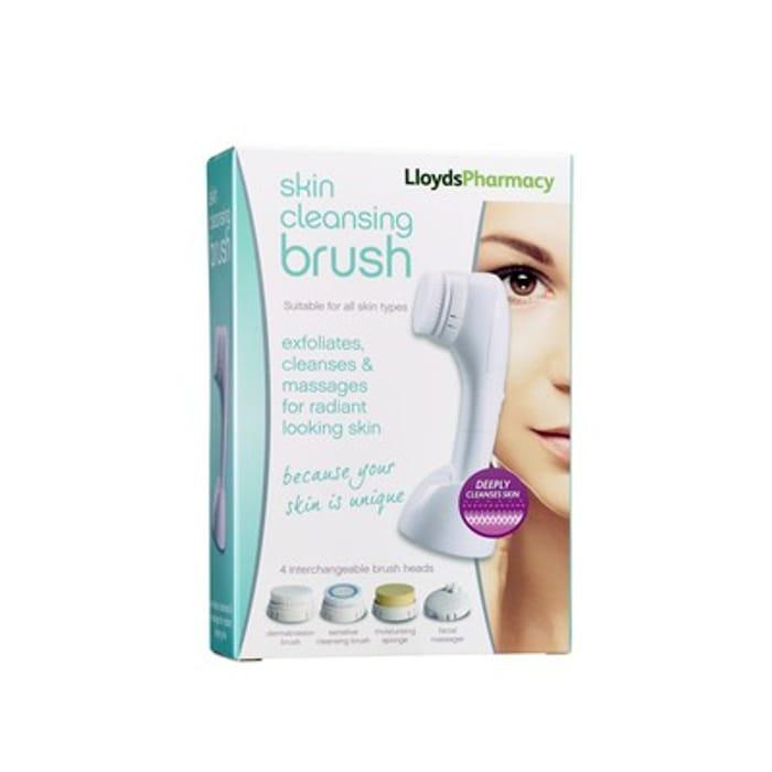 LloydsPharmacy Skin Cleansing Brush Free C&C