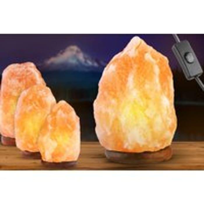 Natural Himalayan Salt Lamp - 5 Sizes! Fom £7.99