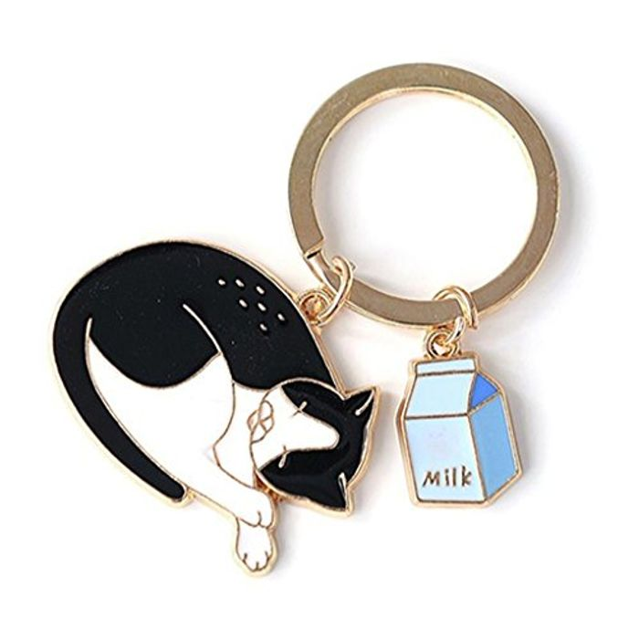 Nap Cat Keyring FREE DELIVERY