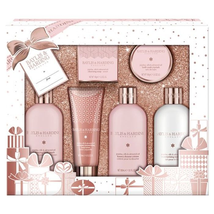 Baylis and Harding Jojoba Silk and Almond Tray Set