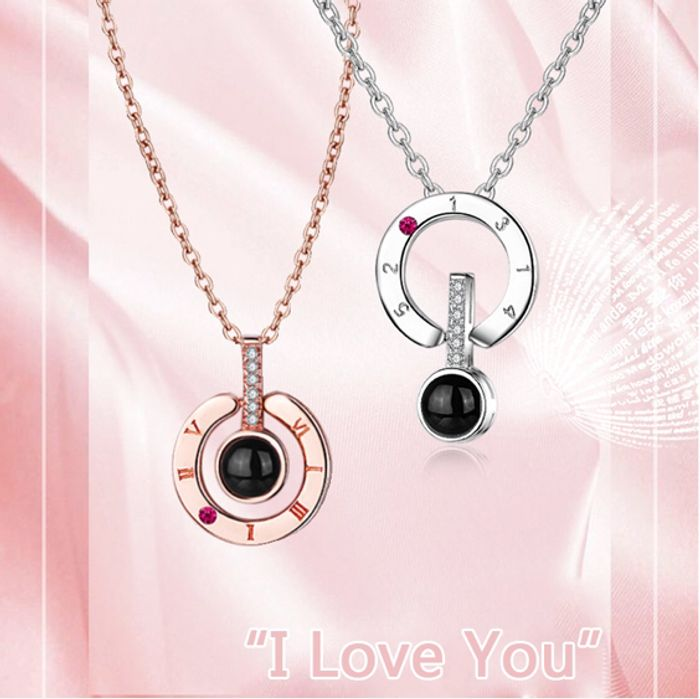 I Love You Necklace £2.75 Says I Love in 100 Different Languages