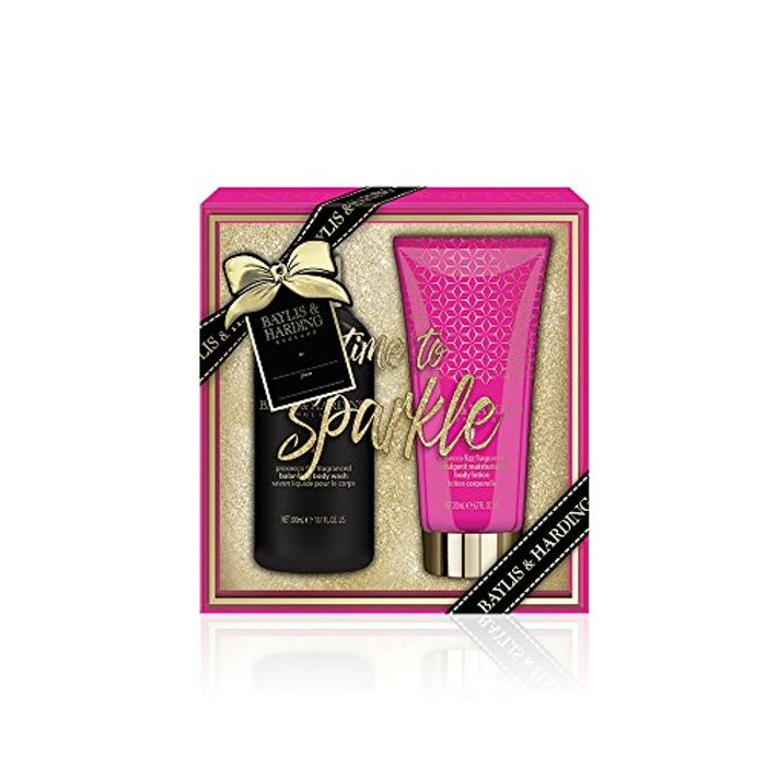 Baylis & Harding Prosecco Fizz Bathing Essentials Gift Set