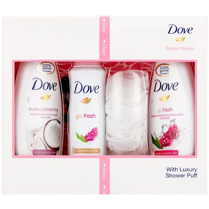 Dove Radiant Beauty Trio Gift Set