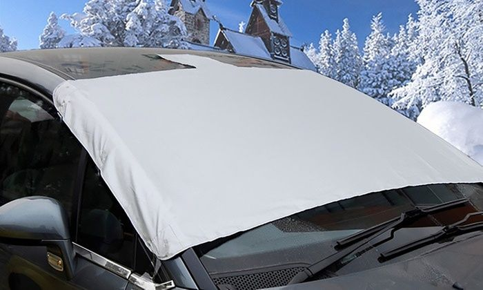 Magnetic Windscreen Frost Protector Cover