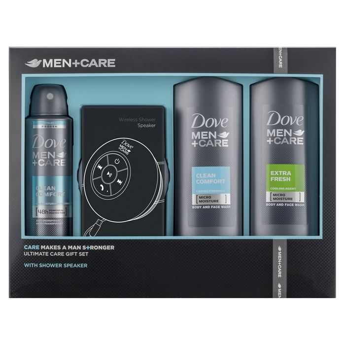 Dove Men +Care Shower Speaker Gift Set Free C&C