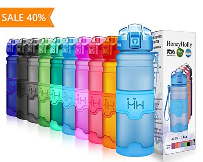 HoneyHolly Sports Water Bottle Only £7.16