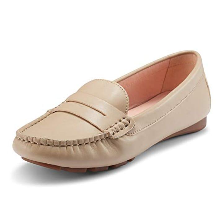 Extra 50%Off JENN ARDOR Women's Flat Loafer Ladies