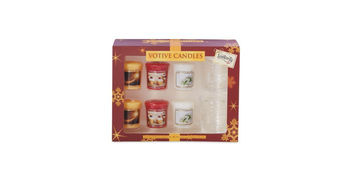 Scentcerity Votive Candle Gift Set