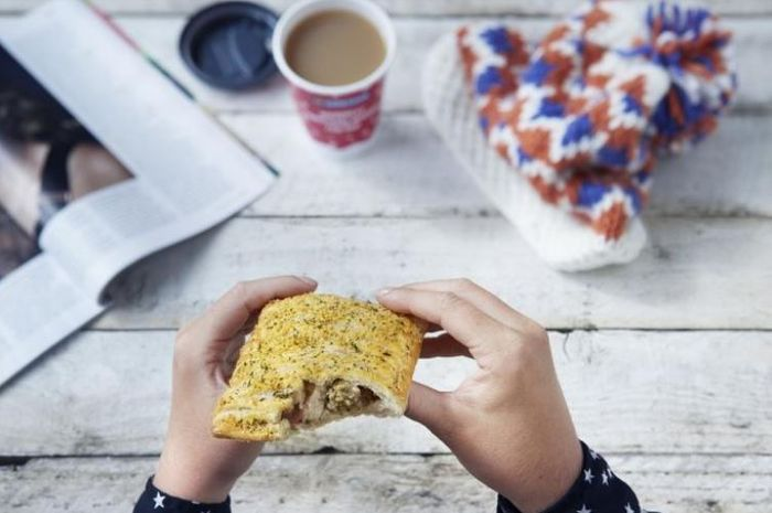 FREE Greggs Festive Bake from 4pm Wednesday Only