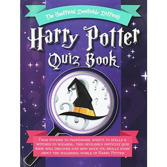 Bargain! the Unofficial Devilishly Difficult Harry Potter Quiz Book at TheWorks