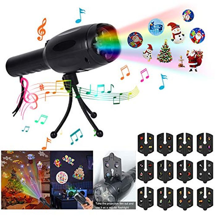 Musical Christmas Led Projector
