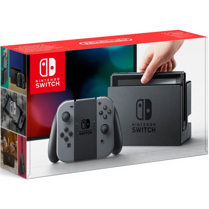 Nintendo Switch Grey Console at Zavvi for £259.99
