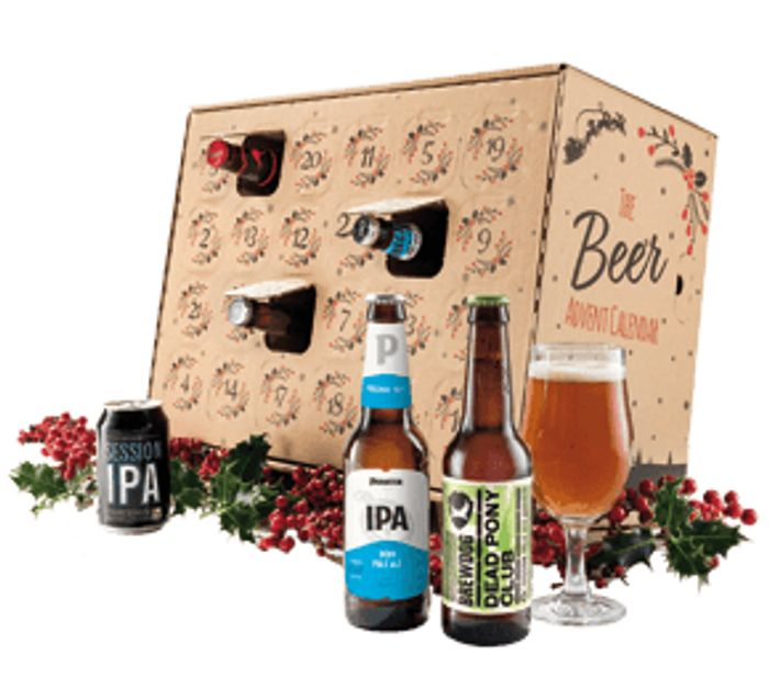 24 Beers Advent Calendar plus Wine £19.98