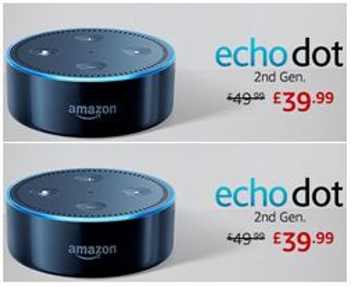 Amazon Echo Dot (2nd Gen) Smart Speaker with Alexa
