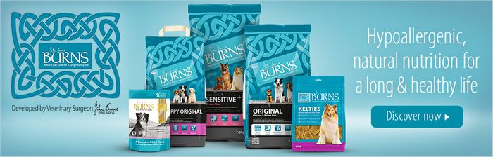15% off on All Burns Sensitive Diets