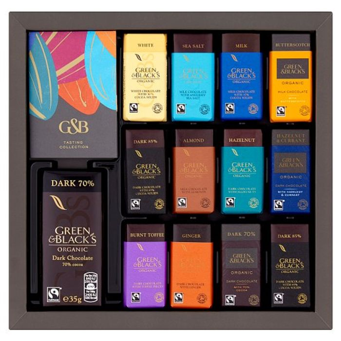 Green Blacks Organic Tasting Collection Boxed Chocolates