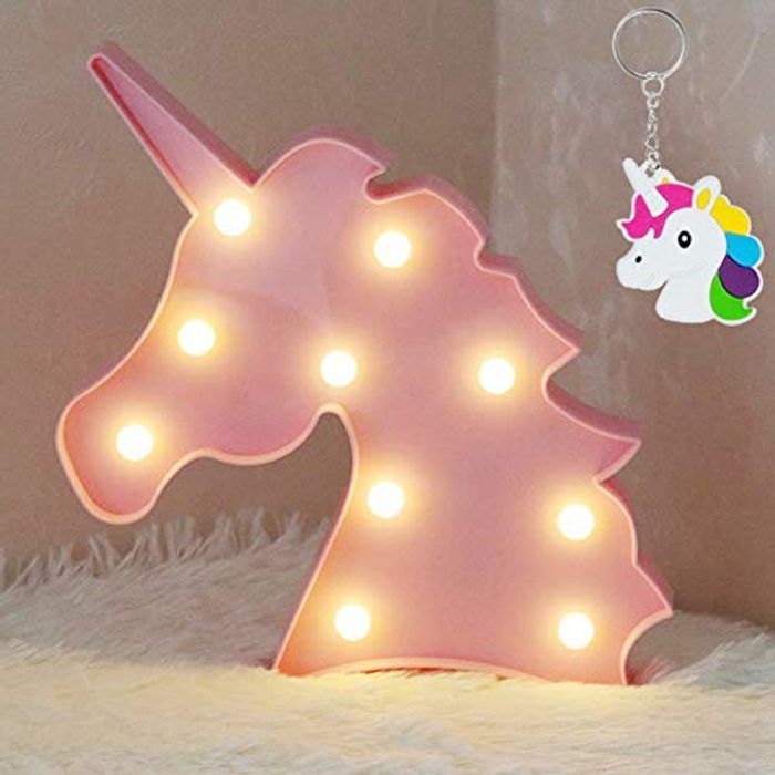 Unicorn Shaped Animal Light Table Lamp