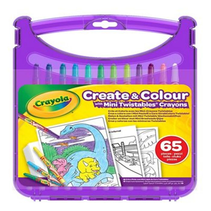 Debenhams Crayola Mini Twistables Half Price
