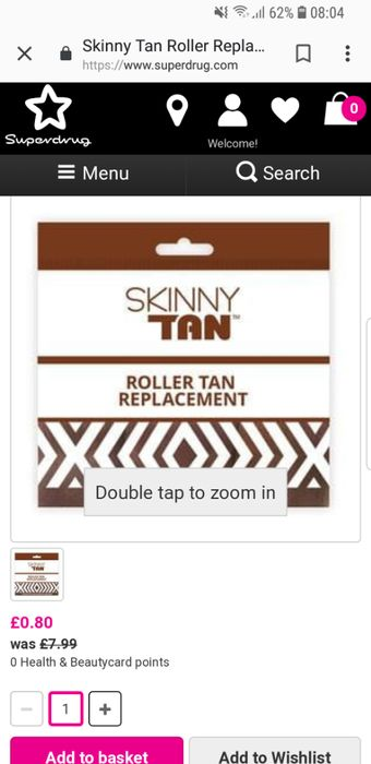 Skinny Tan Replacement Roller Heads