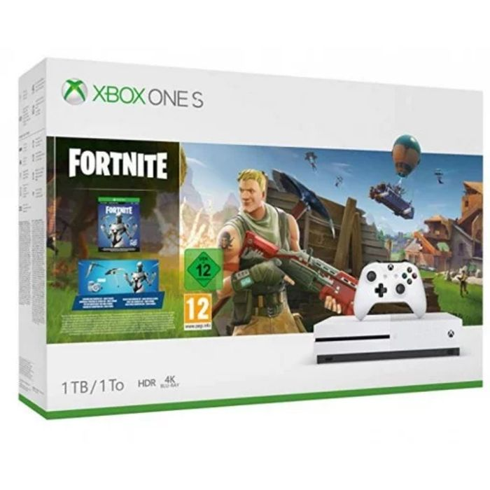 Xbox One S 1TB Console with Fortnite