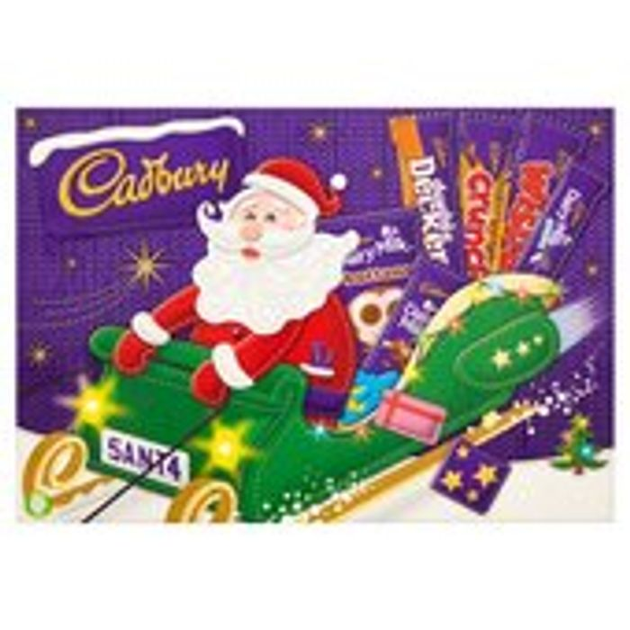 Cadbury Chocolate Santa Selection Box 169g