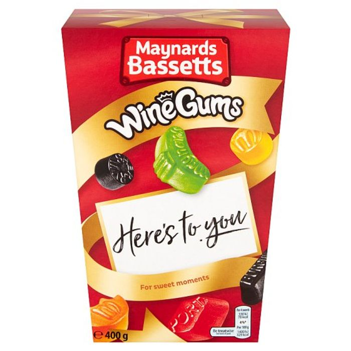 Maynards Bassetts Wine Gums 400G Half Price Online and Instore