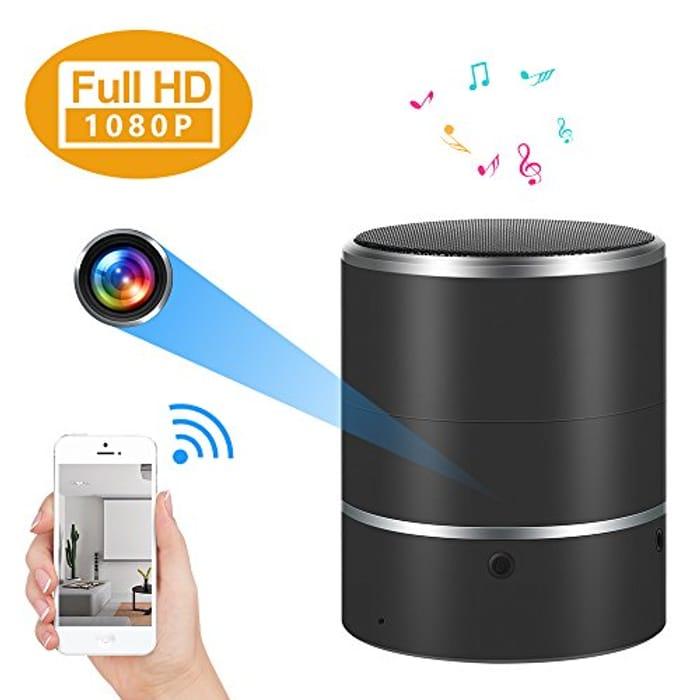 40% off 1080P Spy Camera with Bluetooth SpeakerAmazon Prime Delivery