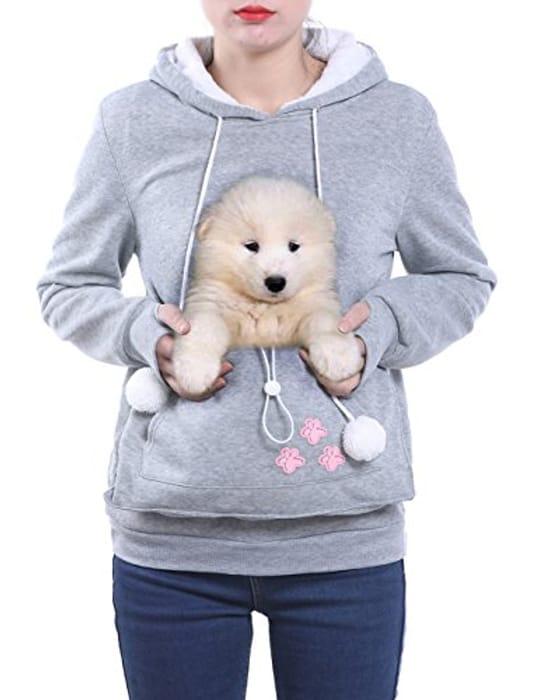 Women's Cute Kangaroo Pocket Hoodie / Sweatshirt from 10.99