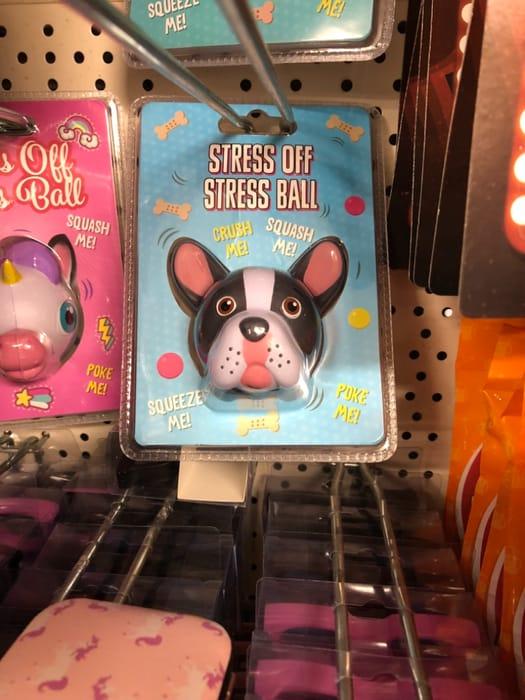 Poundland - French Bulldog Stress Ball