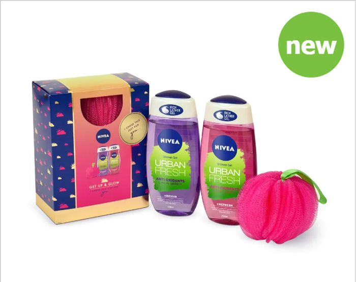 Nivea Get up & Glow Gift Pack Only £3.50