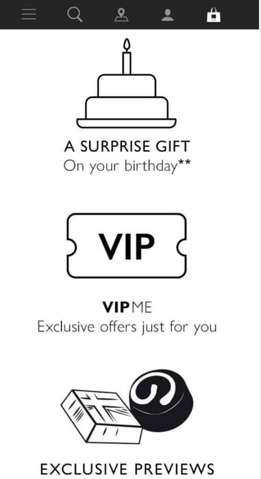 Hotel Chocolat Loyalty Card Birthday Free Gift