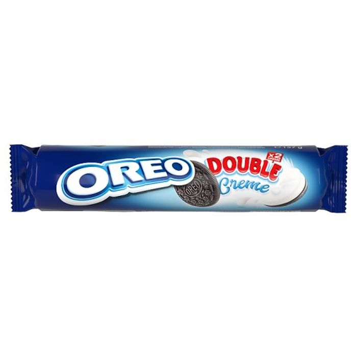 HALF PRICE Oreo Double Stuff Cookie Biscuits 157G