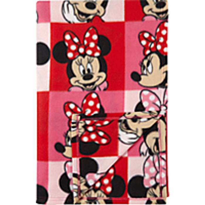 Disney Minnie Mouse Supersoft Fleece Blanket