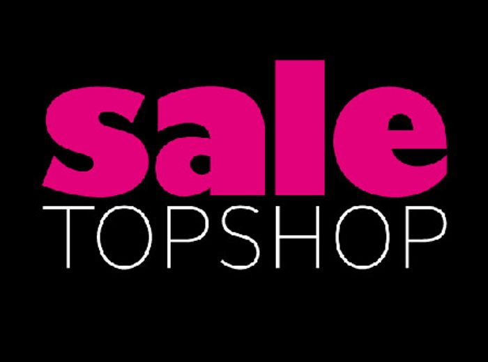 Topshop up to 70% off Sale