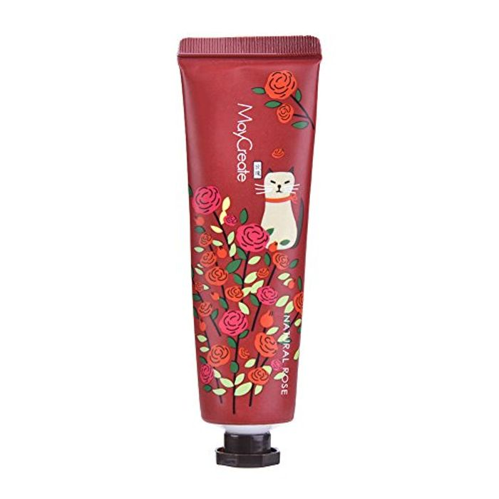 Hand Cream Fruit and Plant Fragrance Moisturizer Hydrated Hand Lotion, Rose