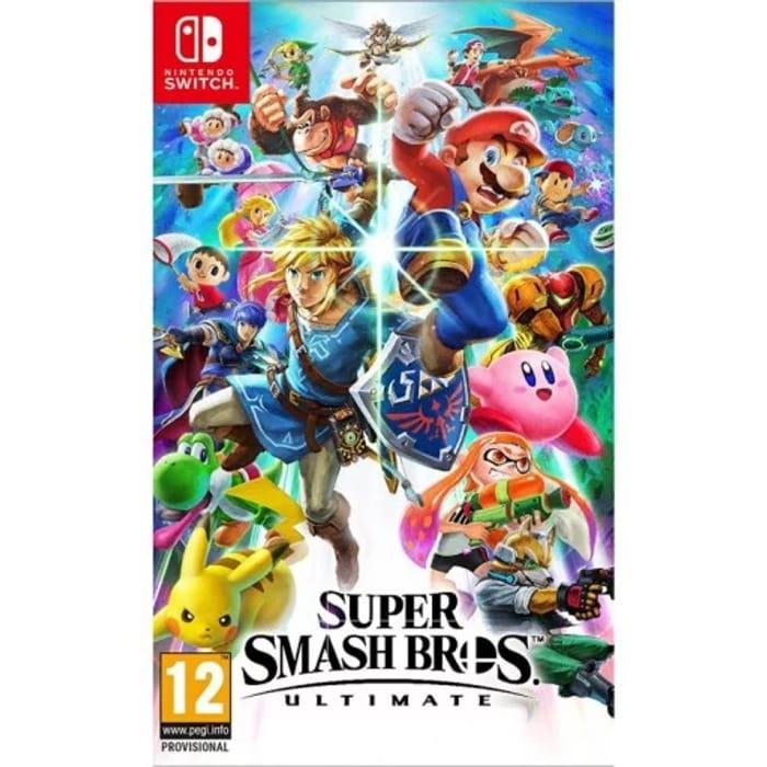Super Smash Bros - Ultimate. Nintendo Switch - Release 7th December