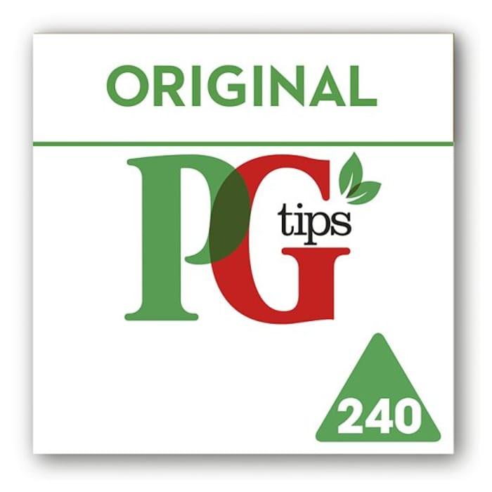 Pg Tips Pyramid 240 Tea Bags 696G