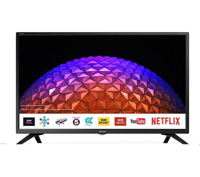 "Black Friday Price Now! SHARP 32"" Smart LED TV"