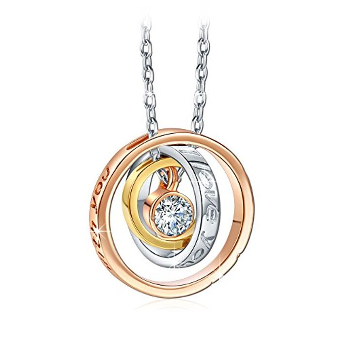 Rose Gold Plated Pendant Crystals from Swarovski.