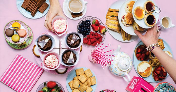 Breast Cancer Free Afternoon Tea Kit.