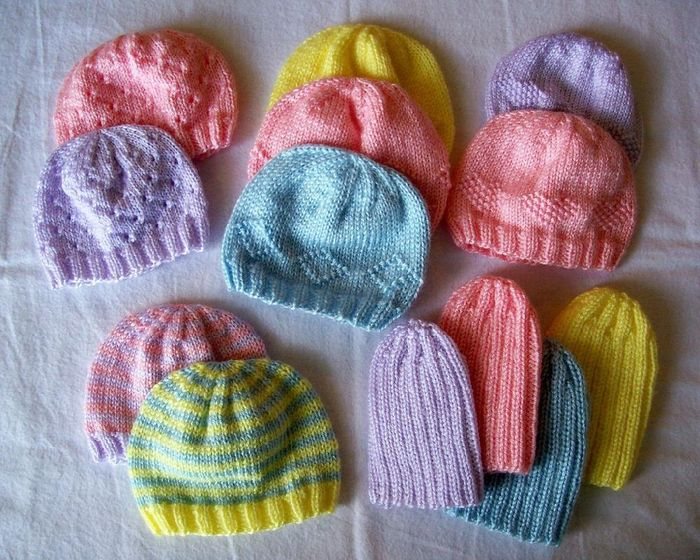 Preemie Hats for Charity