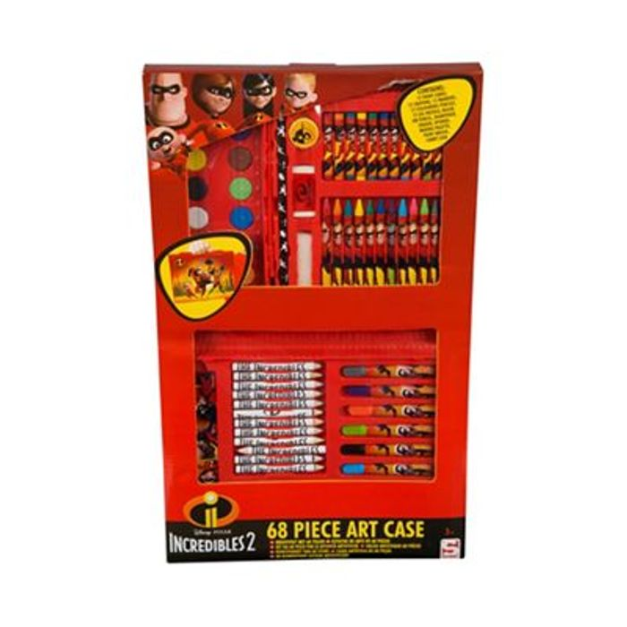 The Incredibles - 68 Piece Art Case
