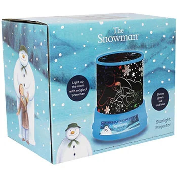 The Snowman Starlight Projector £4 with Code