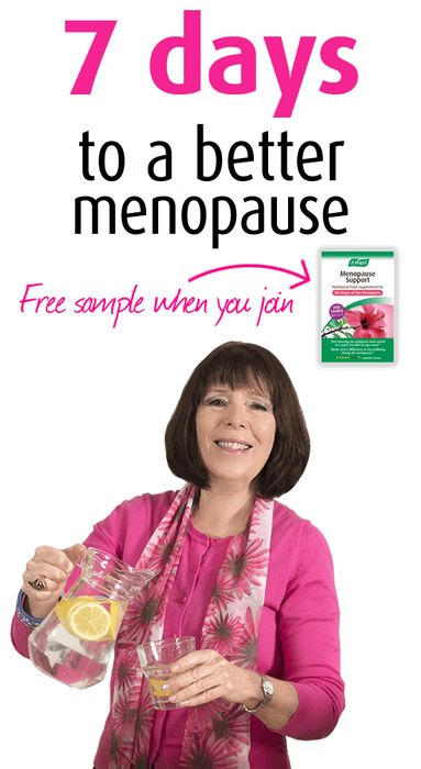 FREE Menopause Support Pack & Supplement Sample