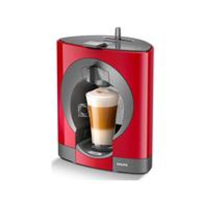 Krups NESCAF Dolce Gusto Oblo Manual Coffee Machine - Red