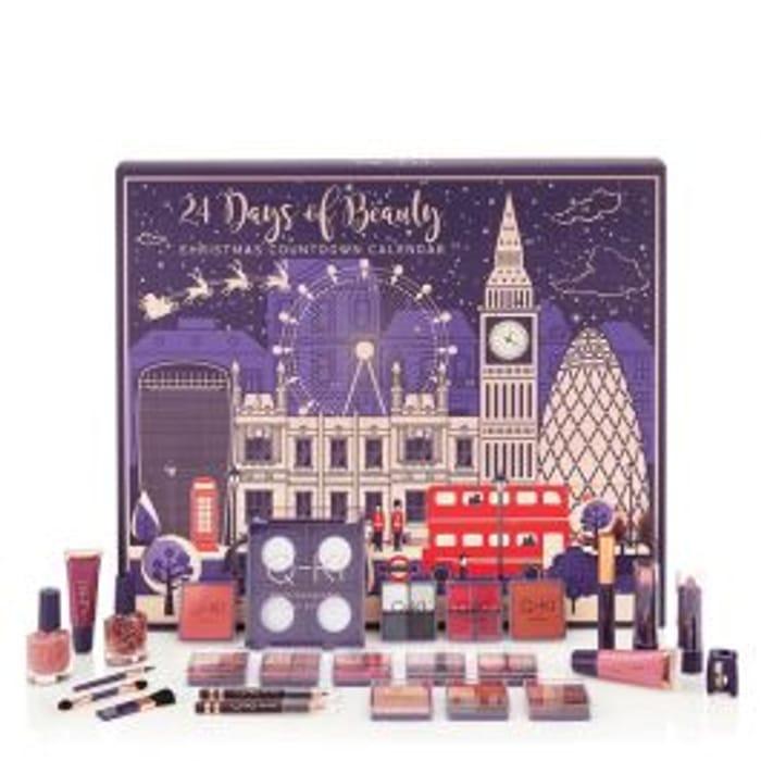 Poundshop.com - 24 Days of Beauty Advent Calendar - Only £10