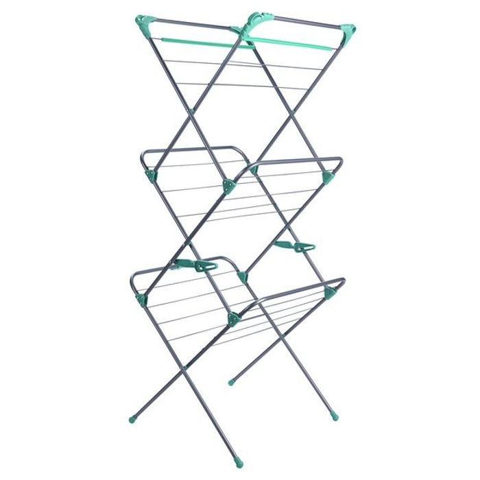 Addis Deluxe 14m 3 Tier Airer (Save 25%, Was £20)