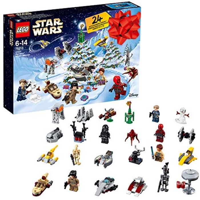 AMAZON #1 Best Seller: LEGO Star Wars Advent Calendar 2018, LEGO 75213