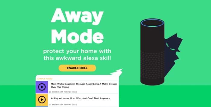Free Home 'Burglar Deterrent' Security with Amazon Echo